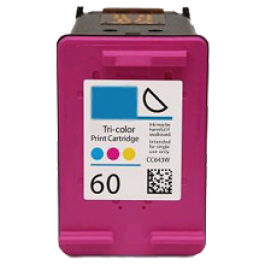 HP CC643WN INK / INKJET Cartridge Tri-Color