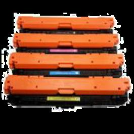HP 651A Laser Toner Cartridge Set Black Cyan Yellow Magenta