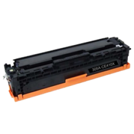 HP CE410X 305X High Yield Laser Toner Cartridge Black