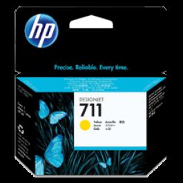 Brand New Original HP CZ132A (HP 711) INK / INKJET Cartridge Yellow