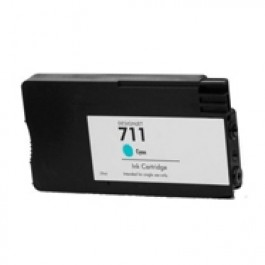 HP CZ130A (HP 711) INK / INKJET Cartridge Cyan