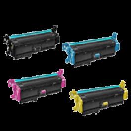 HP 508A Laser Toner Cartridge Set Black Cyan Yellow Magenta