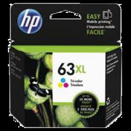 ~Brand New Original HP F6U63AN (HP 63XL) High Yield INK / INKJET Cartridge Tri-Color