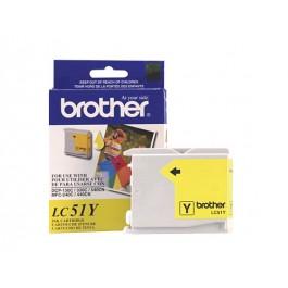 ~Brand New Original BROTHER LC51Y INK / INKJET Cartridge Yellow