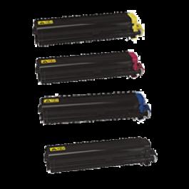 KYOCERA / MITA TK-512 Laser Toner Cartridge Set Black Cyan Yellow Magenta