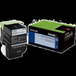 ~Brand New Original LEXMARK 70C1HK0 High Yield Laser Toner Cartridge Black