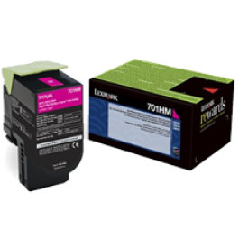 ~Brand New Original LEXMARK 70C1HM0 High Yield Laser Toner Cartridge Magenta