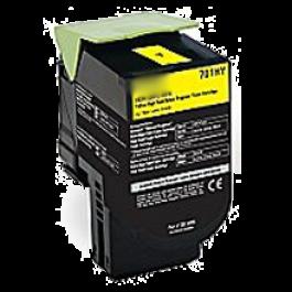 LEXMARK 70C1HY0 High Yield Laser Toner Cartridge Yellow