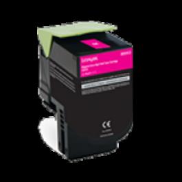 Lexmark 80C1HM0 Laser Toner Cartridge Magenta High Yield