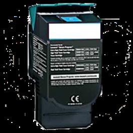 LEXMARK / IBM C544X1CG High Yield Laser Toner Cartridge Cyan