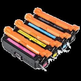HP 201A Laser Toner Cartridge Set Black Cyan Yellow Magenta