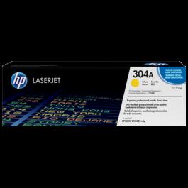 ~Brand New Original HP CC532A Laser Toner Cartridge Yellow