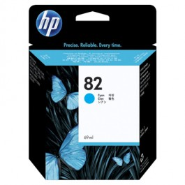 ~Brand New Original HP C4911A (82) INK / INKJET Cartridge Cyan