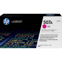 Brand New Original HP CE403A 507A Laser Toner Cartridge Magenta