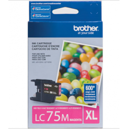 ~Brand New Original Brother LC75MS High Yield Ink Cartridge Magenta