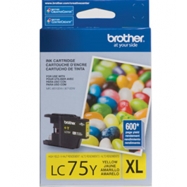 ~Brand New Original Brother LC75YS High Yield Ink Cartridge Yellow