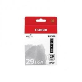 Brand New Original CANON PGI-29LGY Inkjet Cartridge Light Gray