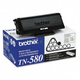 ~Brand New Original BROTHER TN580 Laser Toner Cartridge High Yield