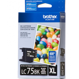 Brand New Original Brother LC75BKS High Yield Ink Cartridge Black