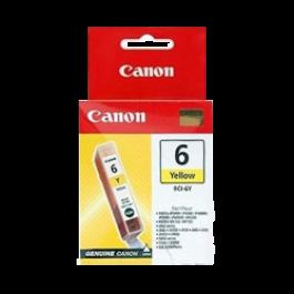Brand New Original Canon BCI6Y Ink / Inkjet Cartridge Yellow