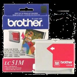 Brand New Original BROTHER LC51M INK / INKJET Cartridge Magenta