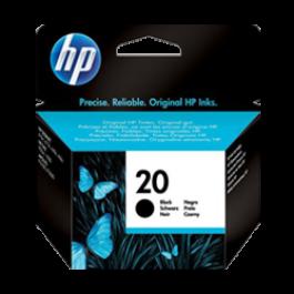 Brand New Original Hp C6614A (20) Ink / Inkjet Cartridge Black