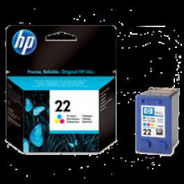 ~Brand New Original HP C9352AN (22) INK / INKJET Cartridge Tri-Color
