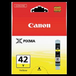 ~Brand New Original CANON CLI-42Y INK / INKJET Cartridge Yellow