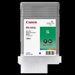 Brand New Original OEM-CANON PFI-101G INK / INKJET Cartridge Green