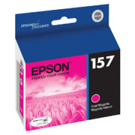 ~Brand New Original EPSON T157320 INK / INKJET Cartridge Vivid Magenta