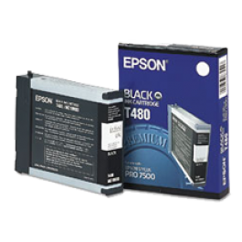 Brand New Original EPSON T480011 Ink / Inkjet Cartridge Black