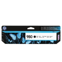 ~Brand New Original HP D8J10A (980) INK / INKJET Cartridge Black