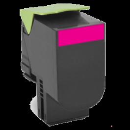 Lexmark 80C1SM0 Laser Toner Cartridge Magenta