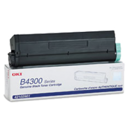 Brand New Original OKIDATA 42102901 Laser Toner Cartridge High Yield Black