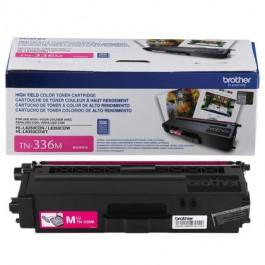 ~Brand New Original OEM BROTHER TN336M High Yield Laser Toner Cartridge Magenta