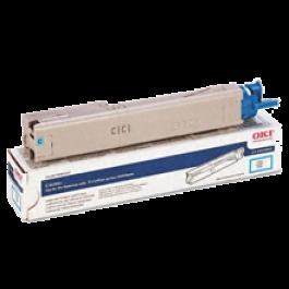 ~Brand New Original OKIDATA 43459303 Laser Toner Cartridge Cyan High Yield