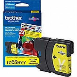 Brand New Original Brother LC65Y Ink Cartridge Yellow