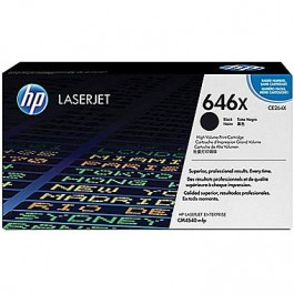 Brand New Original HP CE264X HP646X Laser Toner Cartridge Black