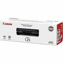 ~Brand New Original CANON 3484B001AA Canon 125 Laser Toner Cartridge