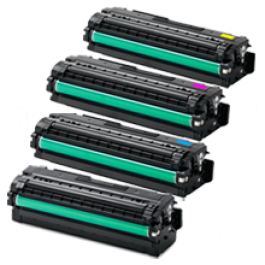 ~Brand New Original Compatible with SAMSUNG CLP-680 Laser Toner Cartridge Set Black Cyan Yellow Magenta