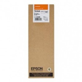 ~Brand New Original EPSON T636A00 INK / INKJET Cartridge Orange