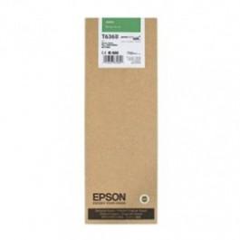 ~Brand New Original EPSON T636B00 INK / INKJET Cartridge Green