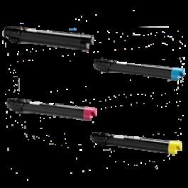 XEROX 7525 / 7530 Laser Toner Cartridge Set Black Cyan Yellow Magenta