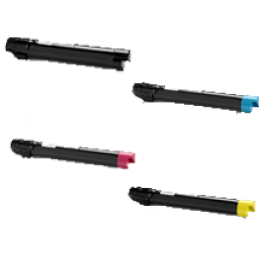 ~Brand New Original XEROX 7525 / 7530 Laser Toner Cartridge Set Black Cyan Yellow Magenta