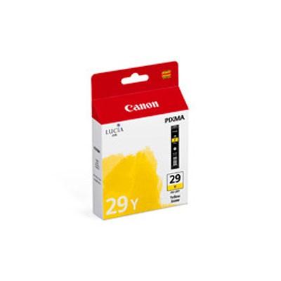 CANON PGI-29Y Inkjet Cartridge Yellow