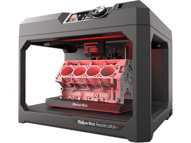 MakerBot REPLICATOR+ 3D Printer (MP07825)