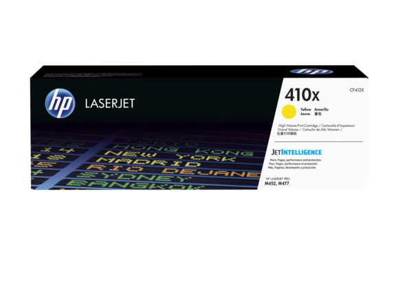 ~Brand New Original OEM HP CF412X (412X) Yellow High Yield Laser Toner Cartridge