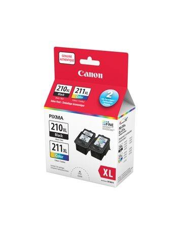 CANON PG-210 XL / CL-211 XL High Yield INK / INKJET Cartridge Combo