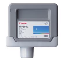 Brand New Original CANON PFI-304C INK / INKJET Cartridges Cyan