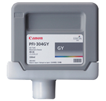 Brand New Original CANON PFI-304GY INK / INKJET Cartridges Gray
